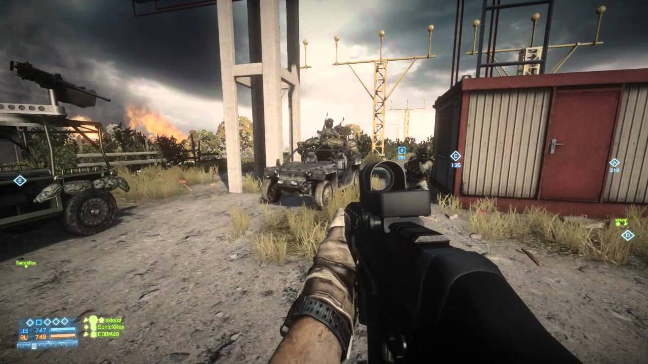 You Can't Hold This Battlefield 3 Jeep Back From Its Dreams Of Being An Aeroplane