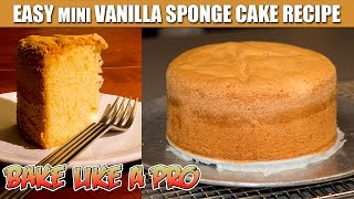 vanilla cake recipe easy moist