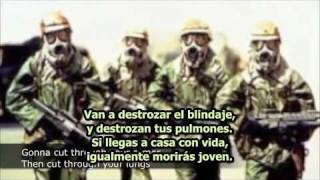 Anti-Flag - Depleted Uranium Is A War Crime - subtitulado en español