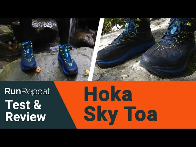 Hoka One One Sky Toa test & review - A mix of hiking boot & trail running shoe