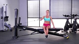 Chest Fly (Single Arm, Seated Side)