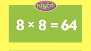 8 Times Tables | Learn Multiplication