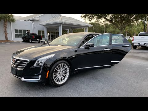 Pre-Owned 2017 Cadillac CT6 4dr Sdn 3.6L Premium Luxury AWD