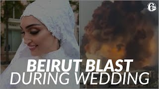 Video Shows Beirut Blast As Bride Poses On Her Wedding Day