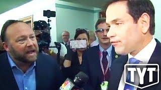 Alex Jones Ambushes Marco Rubio (VIDEO)