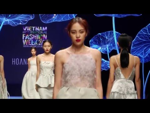 Hoang Minh Ha Showcase Vietnam International Fashion Week 2016