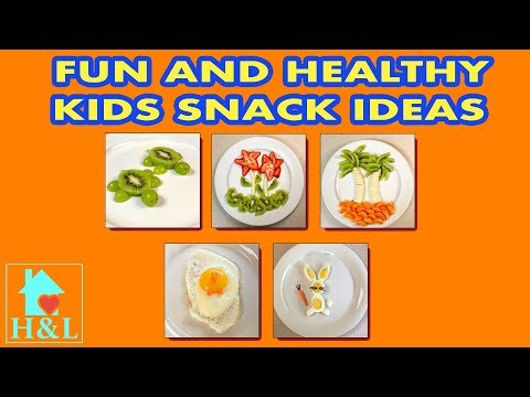 5 Fun And Healthy Kids Snack Ideas || Health and Lifestyle