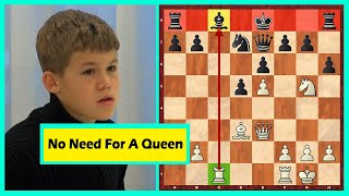 11 Year Old Magnus Carlsen Makes One Of The Best Moves Of His Career