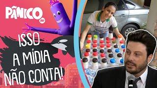 Danilo Gentili fala sobre revival do processo com a doadora de leite