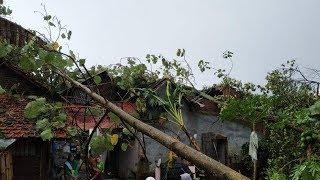 Sembilan Rumah Rusak Parah Diterjang Angin Puting Beliung di Batang