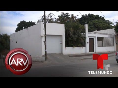 Subastan varias casas de El Chapo Guzmán en Culiacán, Sinaloa | Al Rojo Vivo | Telemundo