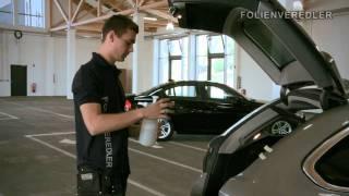 Montagevideo für Passgenaue Tönungsfolie by www.Folienveredler.de