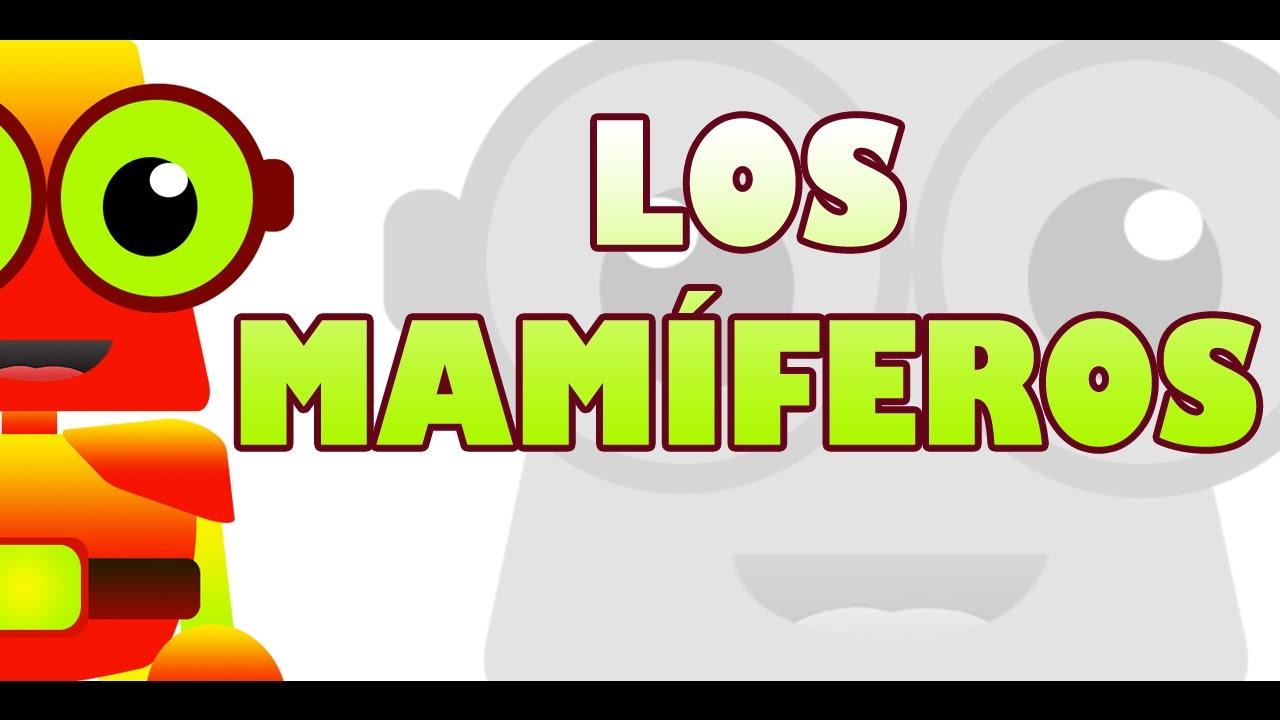 APRENDE CON EDU - LOS MAMÍFEROS