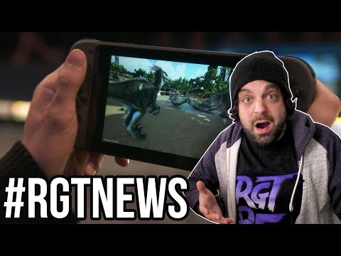 ARK: Survival Evolved COMING to NINTENDO SWITCH! | #RGTNEWS QUICKIE