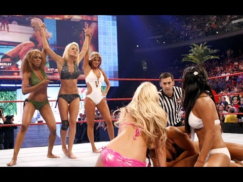 WWE 2K16 (Requested) Bikini Match Maryse vs Alicia Fox vs Rosa Mendes