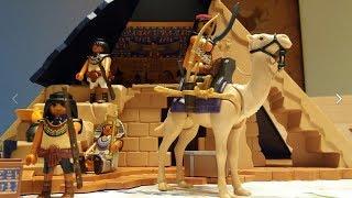 Playmobil - Egypt обзор египетской пирамиды Playmobil 5386 Обзоры игрушек для детей.