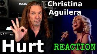 Vocal Coach Reaction to Christina Aguilera - Hurt - Ken Tamplin