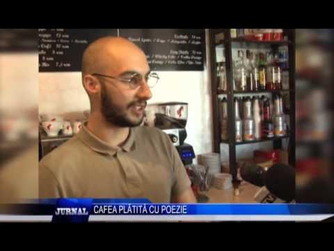 CAFEA PLATITA CU POEZIE
