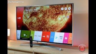 Телевизор LG 49UJ701V IPS 4K Direct UHD 3840 × 2160, Активный HDR , SmartTV WebOS 3.5, Harman Kardon DVB—T2/C/S2 от компании Telemaniya - видео