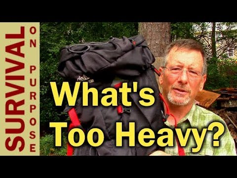How Much Backpack Weight Is Too Much and A $70 Lightweight Backpack Review