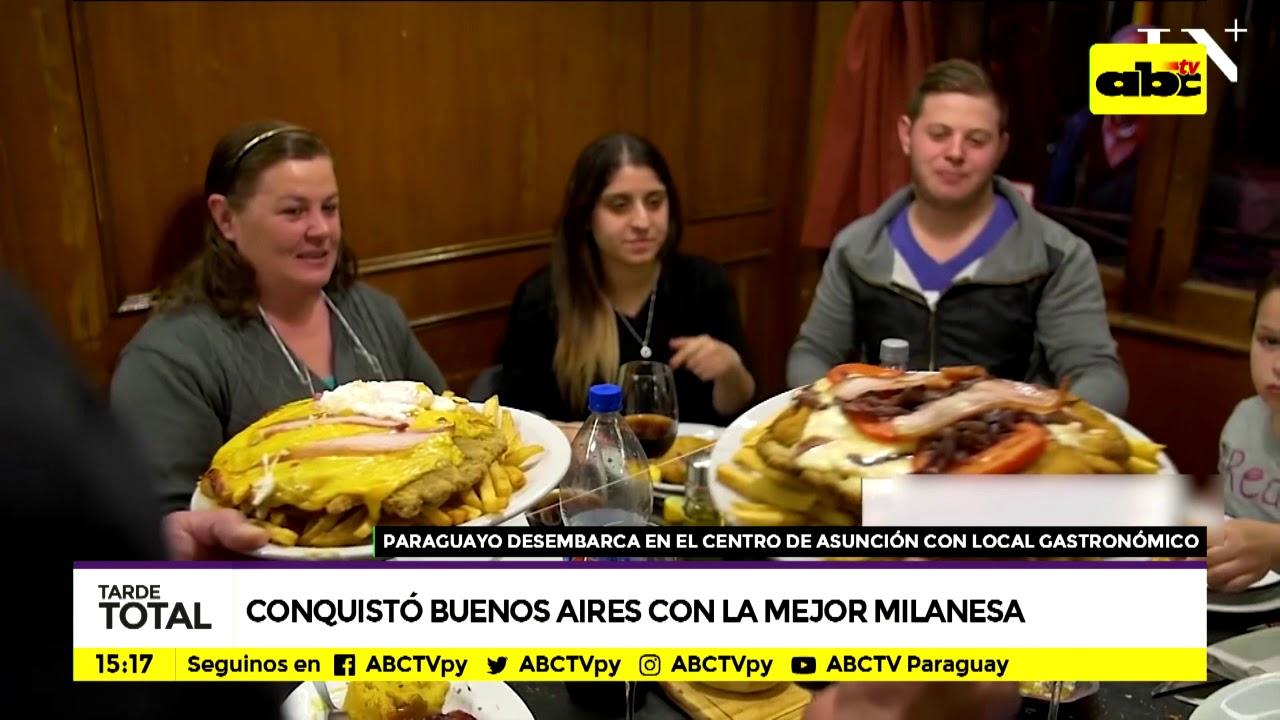 El paraguayo que conquistó Buenos Aires con la milanesa