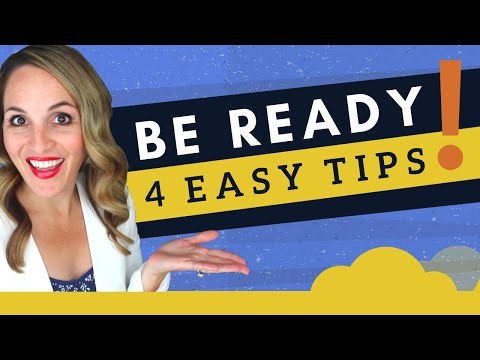 How To BEST PREPARE For A Job Interview - 4 EASY Interview ...