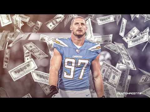 Breaking News!! DE Joey Bosa signs a 5yrs/$135m contract extension with the LA Chargers