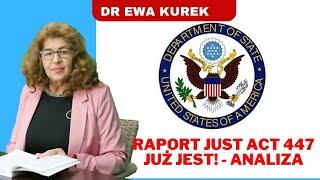 MÓJ SUBSKRYBOWANY KANAŁ – Dr Ewa Kurek analizuje raport 447. Wielka Brytania przyłącza się do nacisków