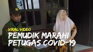 Viral Video Pemudik dari Jakarta Marahi Petugas Pendataan Covid-19 di Kota Solo