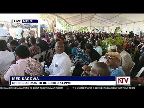 UHRC chairman, Med Kaggwa to be buried in Mpigi