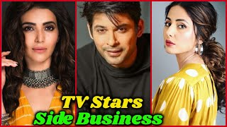 Side Business of Indian TV Actors and Actresses