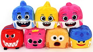 Shark Family Pinkfong, Baby Shark Ollie and William Cube Play   PinkyPopTOY