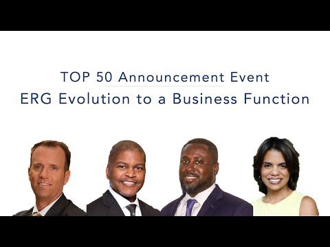 ERG Evolution to a Business Function | 2019 DiversityInc Top 50 Announcement Event