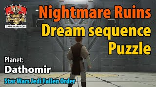 Video Dathomir Nightmare Ruins Dream Sequence Puzzle