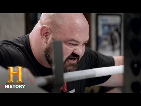 Video trailer för The Strongest Man in History Promo | Series Premiere Wed. July 10 at 10/9c | History