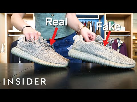 How to Identify Fake Sneakers