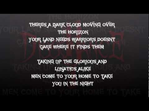 Dissonance - War Machine with Lyrics