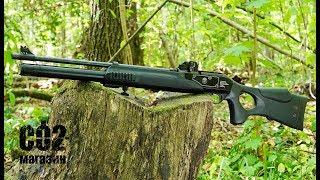 Пневматическая винтовка Hatsan Galatian III от компании CO2 - магазин оружия без разрешения - видео