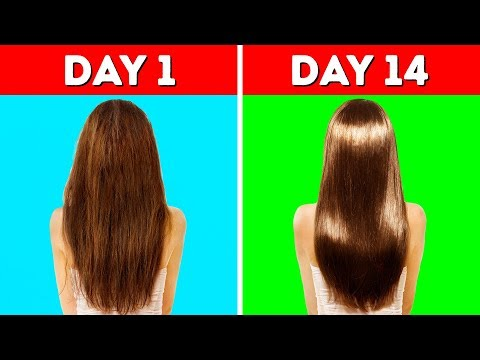 HACKS YOU NEED TO KNOW TO MAKE YOUR HAIR LONG AND HEALTHY