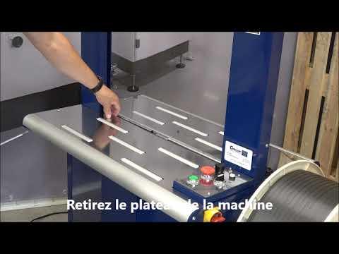 Ampag Boxer II: Nettoyage de la machine