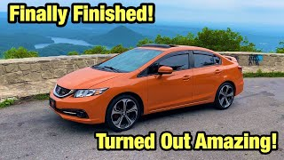Rebuilding My Totaled Wrecked 2015 Si Childhood Dream Car From Salvage Auction, Its Finished