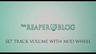 Control VST and Track Parameters via MIDI Keyboard (Reaper