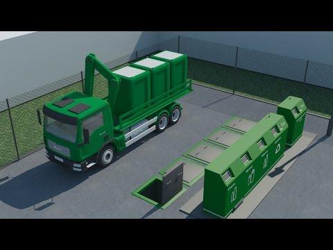 Многофункциональный мусороприемный аппарат раздельного сбора мусора
