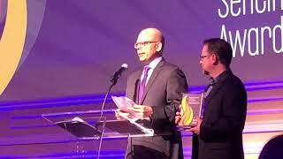 """""""The Lost Pyramid"""" wins a Sentinel Award! (See Matt's speech!)"""