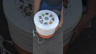 Сушилка для овощей, фруктов Ротор от компании Группа Интернет-Магазинов GiX - видео