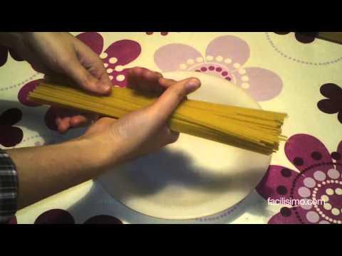 Cómo calcular la cantidad de espaguetis | facilisimo.com