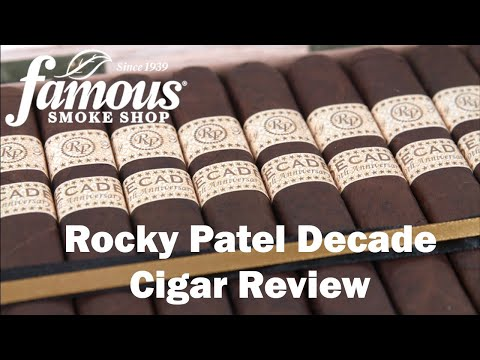 Rocky Patel Decade video