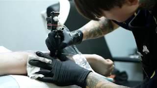 Inner Arm Nature Dagger Tattoo