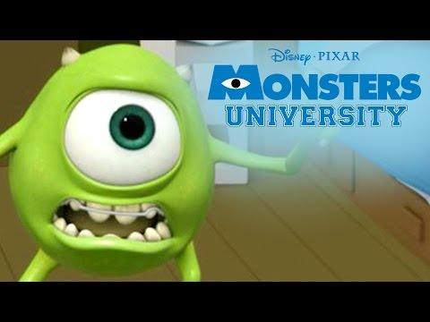 Scare Tactics | Monsters U | Disney Pixar
