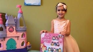 Disney Princess Enchanted Cupcake Party Game - Disney Princess Games